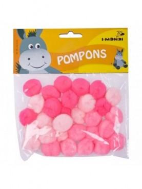 Pom-pom ροζ i-Mondi