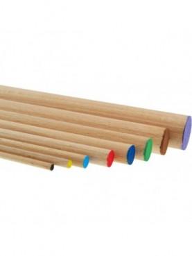 Στρογγυλοί ράβδοι οξιάς 15mm MEYCO hobby