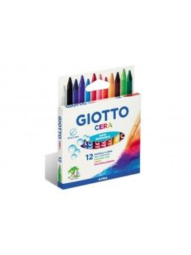 Κηρομπογιές Giotto set 12 χρωμάτων