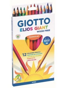 Ξυλομπογιές Giotto Stilnovo Bicolor / set 12 χρωμάτων