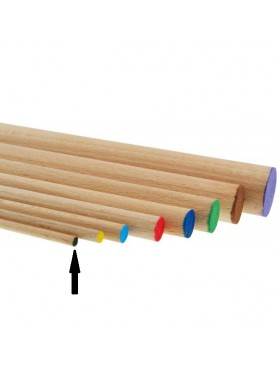 Στρογγυλοί ράβδοι οξιάς 3mm MEYCO hobby